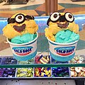 Our minions are one of our popular combinations!! Banana Bongo and Bubblegum ice-cream! (19383502011).jpg
