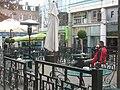 Outside drinking area on Chapel bar - geograph.org.uk - 1048518.jpg