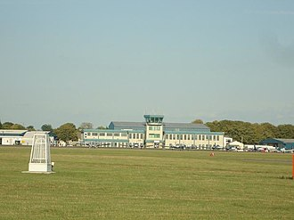 Oxford Aviation Academy - The headquarters of Oxford Aviation Academy (London Oxford Airport, Oxford, GB)