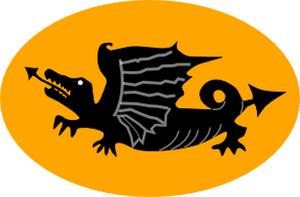 16th Independent Armoured Brigade - Image: Oznaka 16 SB Panc
