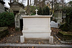 Tomb of Élisa Mercœur