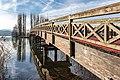 Pörtschach Promenadenbad Brücke zur Blumeninsel 23122017 2136.jpg