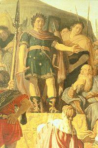 P. Lastman Coriolanus en de Romeinse afgezanten 1625 detail