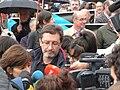 P1180576 Yolanda Díaz, César Santiso, Manifestación xuízo Prestige.JPG