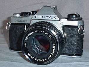 Pentax ME Super with SMC Pentax-M 50/1.7 lens