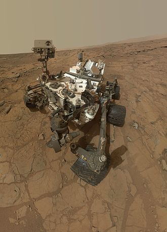 Nuclear power in space - Mars Curiosity rover powered by a RTG on Mars