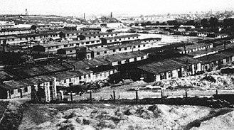 Kraków-Płaszów concentration camp - Kraków-Płaszów in 1942