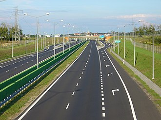 A2 autostrada (Poland) - A2 near Poznań, opened in 2003