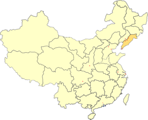 Andong Province - Image: PRC Liaodong