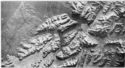 PSM V76 D308 Model of hubbard glacier and disenchantment bay.png