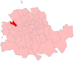 Paddington North (UK Parliament constituency) - Paddington North in London 1885-1918
