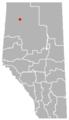 Paddle Prairie, Alberta Location.png