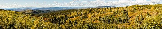 Paisaje en el Sureste de Fairbanks, Alaska, Estados Unidos, 2017-08-28, DD 119-125 PAN.jpg
