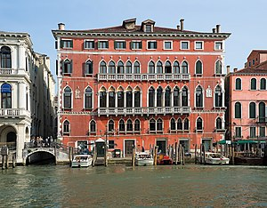 15th century in literature - Palazzo Bembo on the Grand Canal (Venice), birthplace of Pietro Bembo