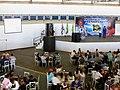 Palestra da astronauta norte americana Ellen Baker no Domingo com o Astronauta, evento comemorativo dos 10 anos da Missão Centenário, a primeira missão espacial brasileira que levou ao espaço o astrona - panoramio (5).jpg
