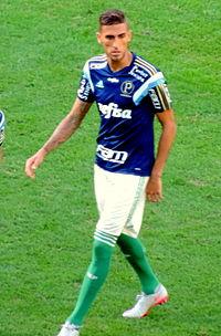 Rafael Marques em 2015 pelo Palmeiras. 34fe7b15947ac