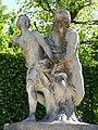 Pan and Syrix - Skulptur im Barockgarten Grosssednitz.JPG