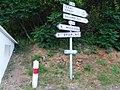 Panneaux, D 38, circuit Lawrence-d'Arabie, Bourgnac.jpg