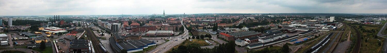 Panorama over Linköping