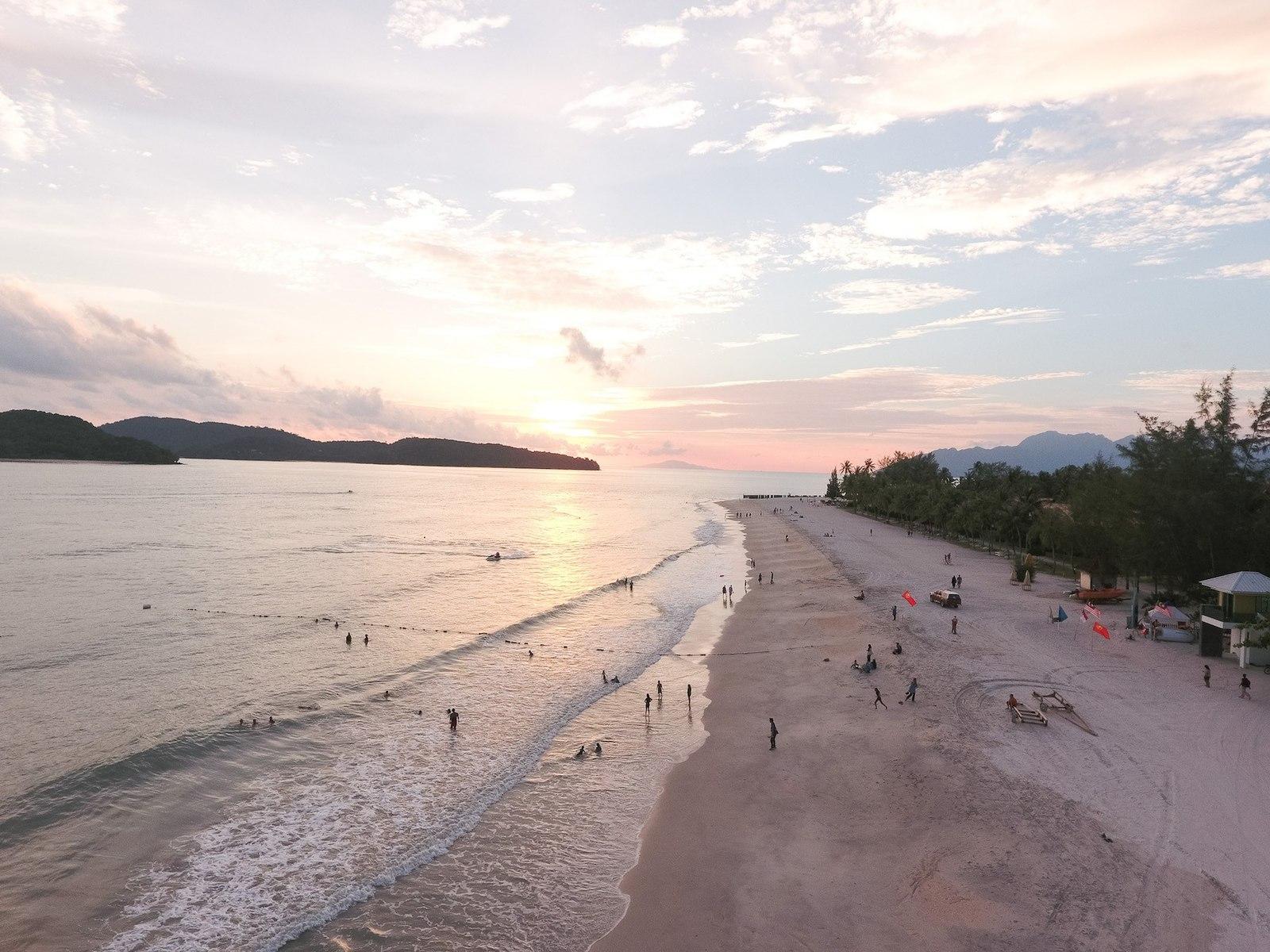 Sunset at Cenang Beach