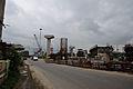 Parama-Park Circus Flyover Under Construction - Parama Island - Kolkata 2012-07-31 0519.JPG