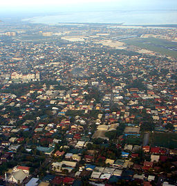 Aerial View of Parañaque City