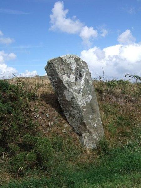 File:Parc y Meirw stone - geograph.org.uk - 703896.jpg