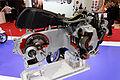 Paris - Salon de la moto 2011 - Piaggio - coupe de moteur - 003.jpg