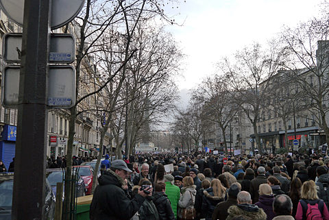 Paris Rally, 11 January 2015 - Boulevard Beaumarchais - 04.jpg