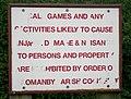 Parish Council Notice - geograph.org.uk - 477969.jpg