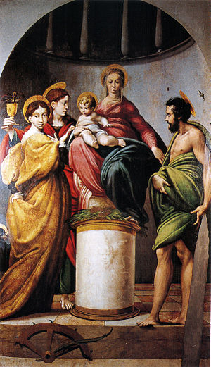 Parmigianino - Bardi Altarpiece (1521).
