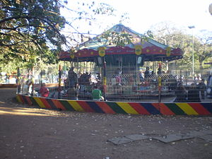 Avellaneda Park - The merry-go-round (installed in 1966, it's one of 52 in the city)