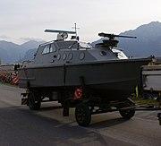 Patrouillenboot 80 - Schweizer Armee - Steel Parade 2006