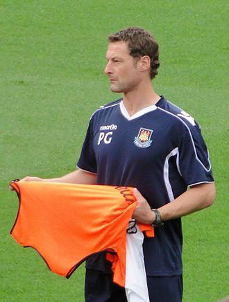 Paul Groves (footballer) - Groves at West Ham United, August 2010