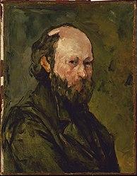 Paul Cézanne: Portrait de l'artiste (Self-Portrait)