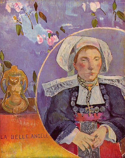 The Beautiful Angèle by Paul Gauguin.