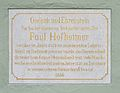 Paul Hofhaimer plaque, Rathaus, Radstadt.jpg