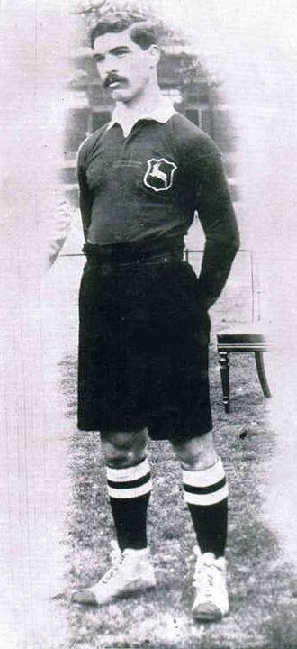 Paul Roos (rugby player) - Paul Roos, Springbok Captain, of the first South African touring rugby team to the British Isles in 1906