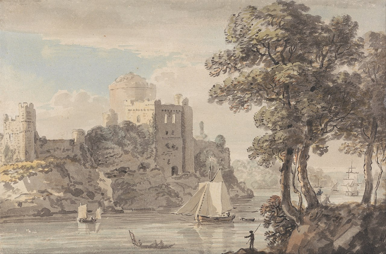 Пол Сэндби - Замок на реке - Google Art Project.jpg