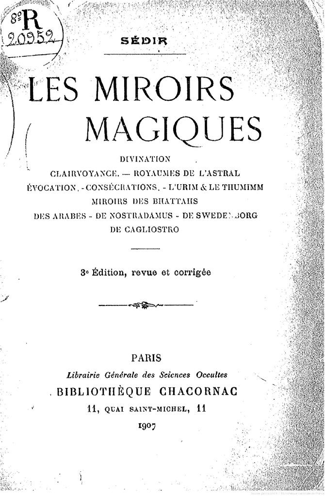 File paul sedir les miroirs magiques for Miroir magique production
