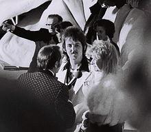 Paul e Linda McCartney agli Academy Awards del 1974