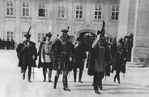 Government of Croatia - Image: Pavao Rauch and dignitaries in Zagreb