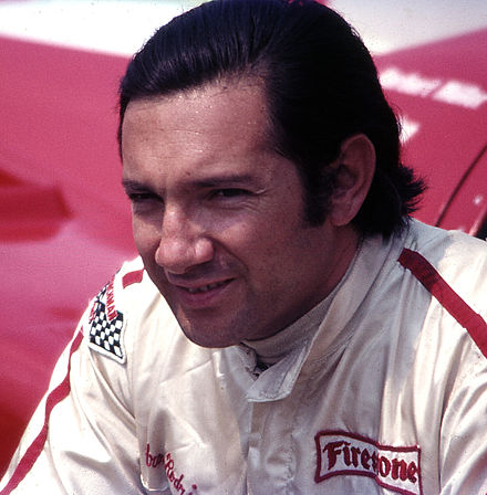 Rodriguez at the 1971 French GP (photograph taken seven days before his death) PedroRodriguez-a.jpg