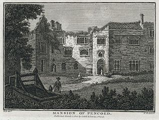 Penhow Castle and Church & Mansion of Pencoed
