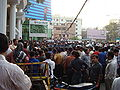 People Waiting outside the BDR gate by Mujib Mehdy 2.jpg