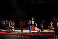 Performers from George Carden Circus International, thank the audience for their attendance during the El Maida Shriner Circus at the El Paso County Coliseum in El Paso, Texas, Nov. 11, 2012 121111-A-VF572-007.jpg