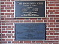 Perry Consolidated School plaque.JPG