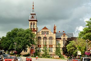Perth County, Ontario - Perth County Court House, Stratford, Ontario