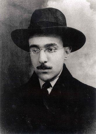 Fernando Pessoa - Portrait of Pessoa, 1914.