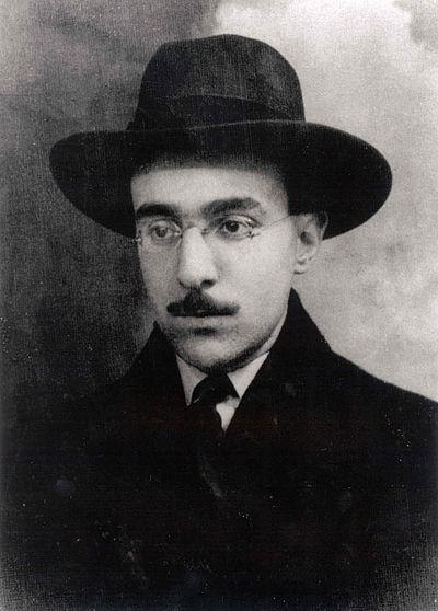 Picture of an author: Fernando Pessoa